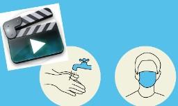 Vidéo: Les gestes barrières par la médiation théatre du SAJM UE